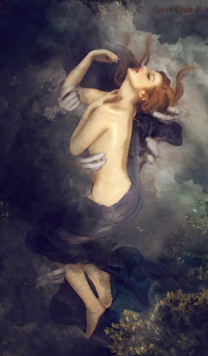 U Ió se Diovi podařilo dostat v podobě mračna do všech pórů jejího těla.