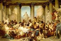 V luxusních vilách se Římané věnovali hromadnému sexu
