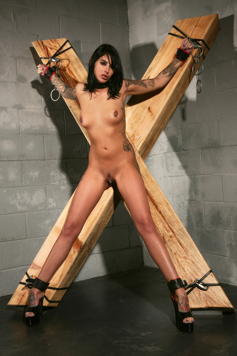 Bdsm bondage cross sorry, that