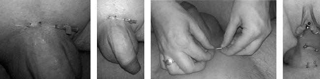Jednoduché surface piercingy zvládneš i doma sám nebo s partnerkou