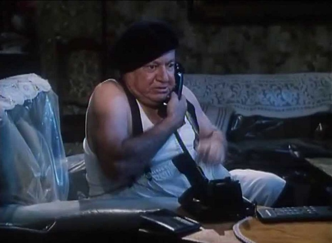 Při sexu po telefonu máte tu výhodu, že si na sebe můžete vzít klidně tepláky (Fantozzi)