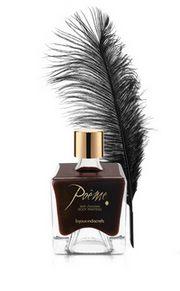 Čokoládová barva na tělo Poéme v luxusním balení.