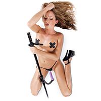 Nejjednodušší šukací stroj je obyčejné dildo na tyči.