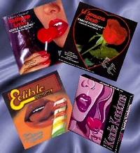 Jedlé kondomy sice před početím ochránit nedovedou, můžete si však na nich pochutnat.