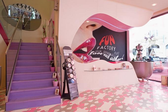 Berlínský sexshop Fun Factory se rozkládá na dvou podlažích