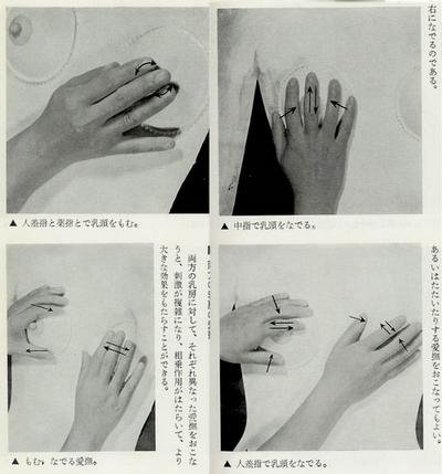 Pokud jste zvládli polechtat partnerovi pupík, přichází konečně fáze hlazení prsou. Abyste nic nepokazili, následující fotografie názorně popisují jak má správné hlazení prsou vypadat.