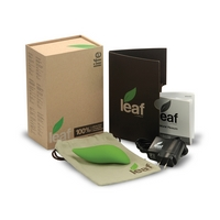 EKO vibrátory Leaf dostanete ve stylové krabici ze 100% recyklovaného materiálu