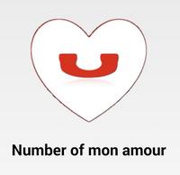 Stačí zadat číslo vaší mon amour...