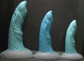 Dildo ve tvaru penisu bájné mořské obludy, se kterou bojoval sám Poseidon