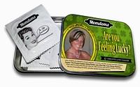 A jak by se na krabičce od kondomů skvěla podobizna vaší matky?