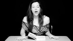Pornoherečka Stoya v projektu Hysterická literatura