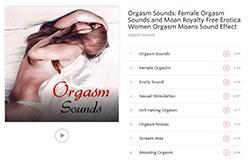 Album zvuků ženských orgasmů