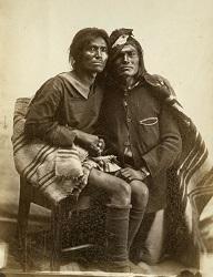 Zmilovaný indijanský páreček