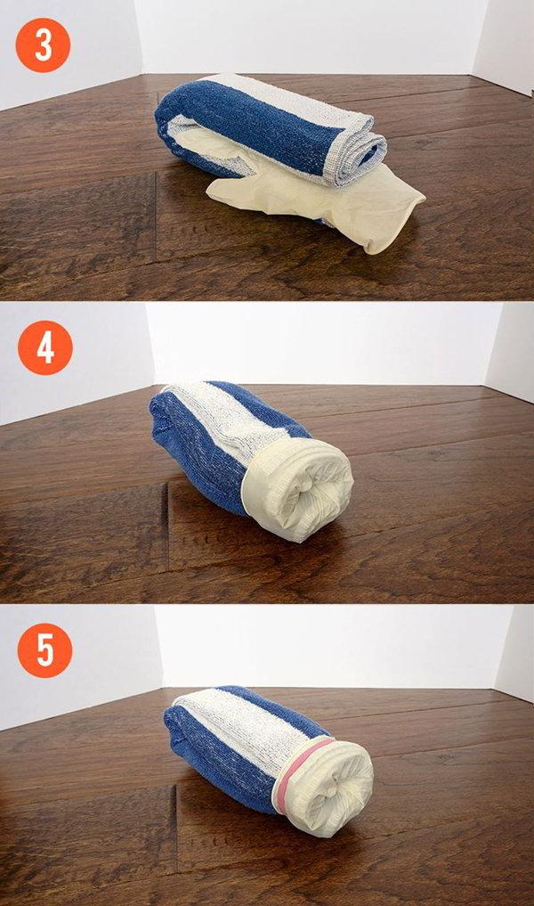 Výroba umělé vaginy z ručníku