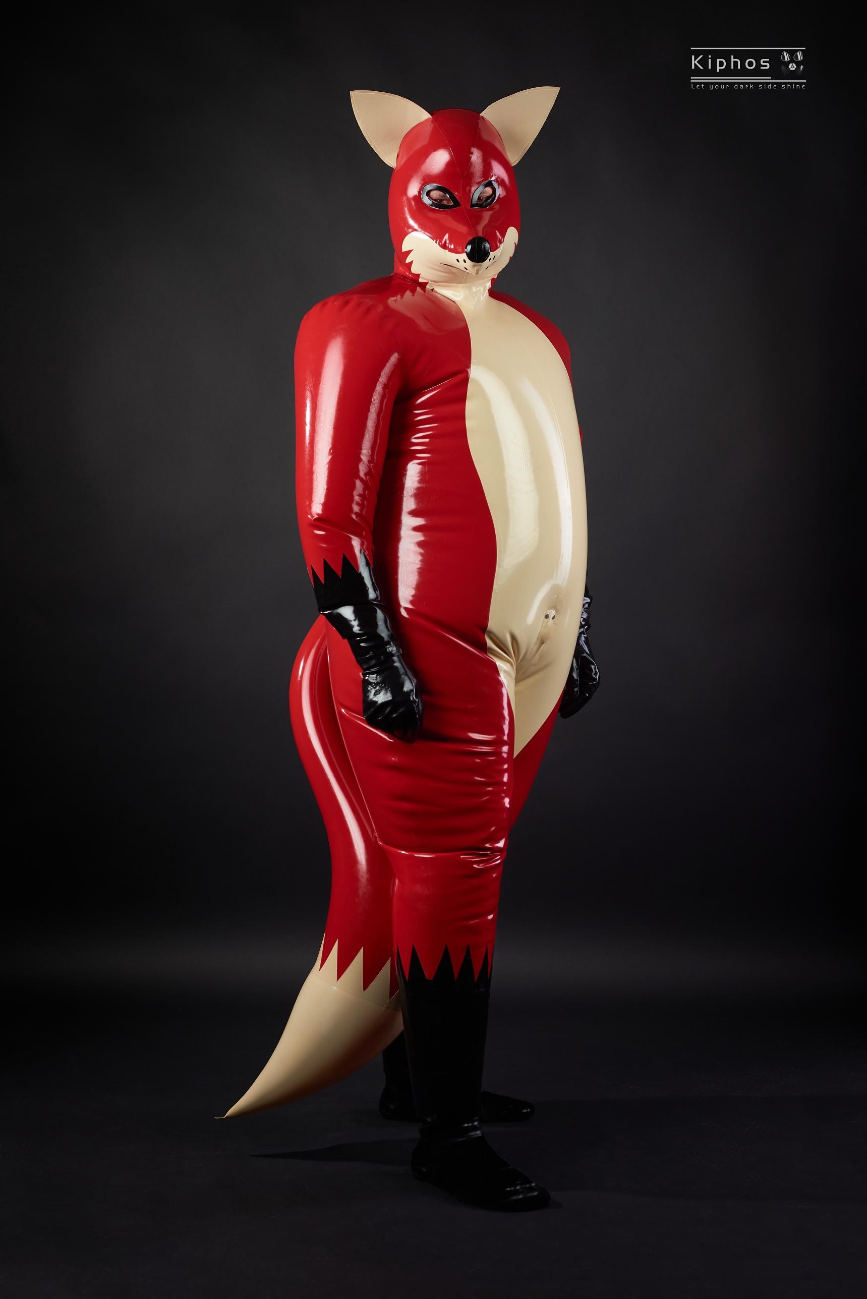 Liščí latexový kostým – Kiphos