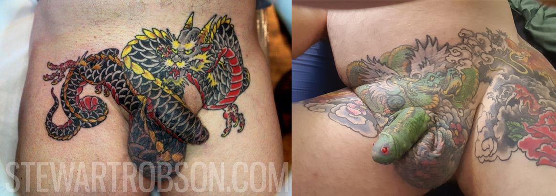 Tetování penisu