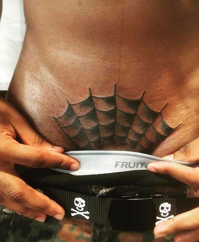 Pánské intimní tetování
