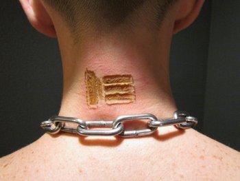 Označkování otroka
